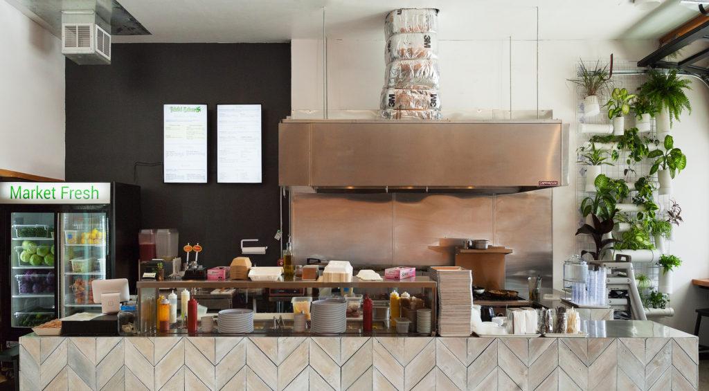 falafel salam west seattle front kitchen